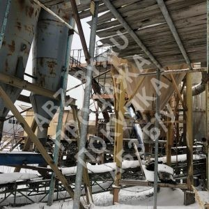 Асфальтобетонный завод Teltomat - фото зимой