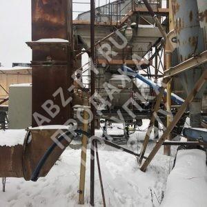 АБЗ Teltomat зимой