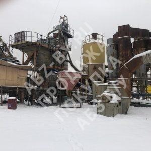 Фото АБЗ Teltomat зимой
