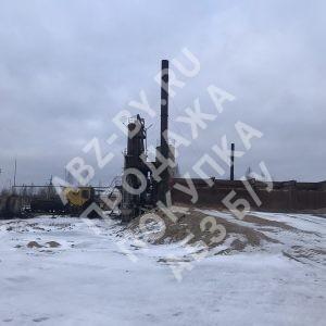 АБЗ ДС-185 - фото асфальтного завода