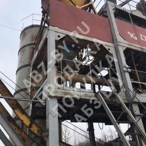 Асфальтный завод ДС-185 - фото снизу